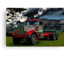 1959 DC 102A Autocar Diesel Truck Canvas Print