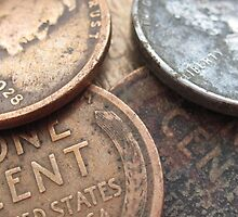 Pennies No.3 by bwcampbell