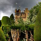 Castle and garden in Scotland by enrico01