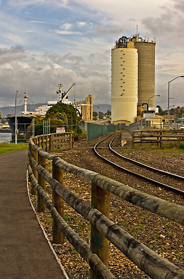 Devonport Port and Rail by TonyCrehan