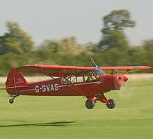 Piper PA-18-150 Super Cub by Barry Culling