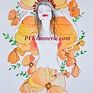 Orange Autumn Beauty (Watercolor) by Patricia Feaster-Kimmerle