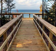 Twelvemile Beach Scenic Overlook by Megan Noble