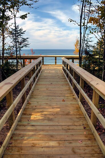 Twelvemile Beach Scenic Overlook by Megan Noble