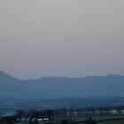 Moon over Ben Ledi by Bob Leckridge