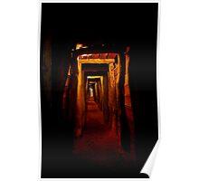 Burra Mine Tunnel Poster