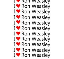 I Love Ron Weasley by eggnog