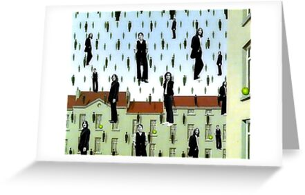 A Magritte Tribute To The Beatles by SuddenJim