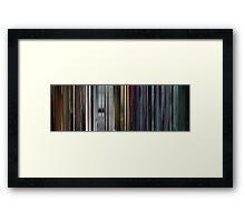 Moviebarcode: The Animatrix 5: Program (2003) Framed Print