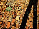 Shadow on Cobblestone by Scott Mitchell