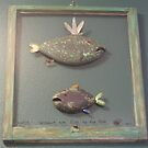 Windows are fish to the sole 6 of 13.  30&quot; x 32&quot; (SOLD) by Fred Weiler