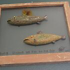 "Windows are fish to the sole 8 of 13. 28"" x 24"" (SOLD) by Fred Weiler"