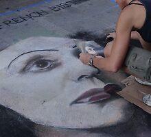 Festival of pavement graffity II - Festival de la pintura en la plaza  by Bernhard Matejka