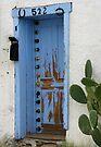 Blue Door - 522 by Lucinda Walter