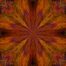 Cirque ___Kaleidoscope Card  by Diane Johnson-Mosley