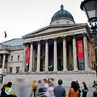The National Gallery, London by Andrew Lawrence