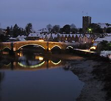 Aylesford in Winter by Sue Martin