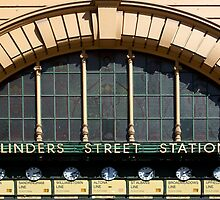 Flinders Street Station Clocks by pbclarke