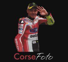 Valentino Rossi T-Shirt/Sticker by corsefoto
