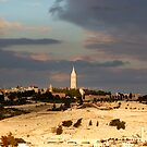 Mount of Olives, Jerusalem by johnnabrynn