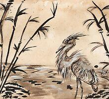 Heron by Sydney Zmitrewicz