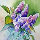 Lilacs in Lavender by Pat Yager
