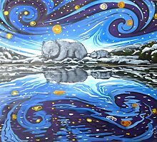 Winter Reflections by SnakeArtist