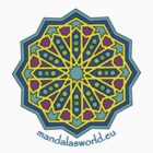 Alhambra Mandala 1a by Mandala's World