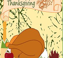 Happy Thanksgiving (1560 Views) by aldona