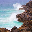 Waves Crashing by -aimslo-