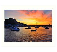Gorey Harbour Sunrise Art Print