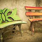 Bench by Lisa Taliana