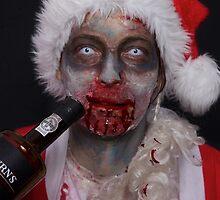 zombie santa 1 by benedictwells