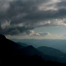Clouds, mountains by Neutro