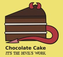 Chocolate Cake - Devil's Food Cake  by zoel