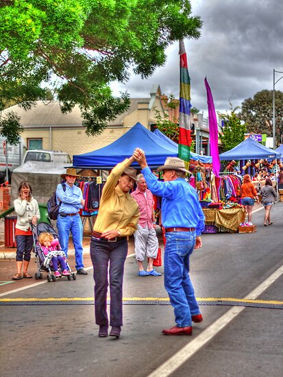 Dancing in the Street by Elaine Teague