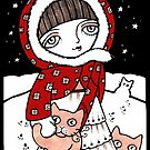 STORIES IN THE SNOW by Anita Inverarity by Anita Inverarity