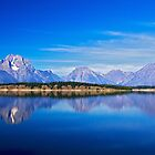 Mirror at Jackson Lake by Rick Louie