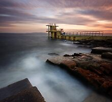 Divers Platform - Salthill Co. Galway Ireland by Pascal Lee