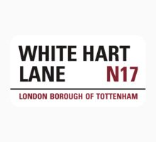 White Hart Lane Sign by StreetsofLondon