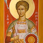 St Demetrios the Myrrhstreamer by ikonographics
