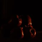 Apple in the Dark by BrickWallPhoto