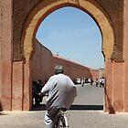 Man on bike Marrakech by PaulineC