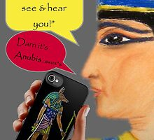 Cleopatra goes iPhone by patjila