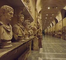 a quiet night in the Vatican museum by graceloves