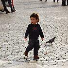 little kid Vatican square by graceloves