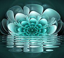 Teal Bloom by James Brotherton