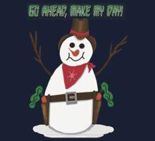 Cowboy Snowman by tapiona