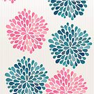 Dahlia Delight - Floral Ladies Iphone Case by Pip Gerard