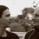 father & son by Karen E Camilleri